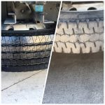 Truck Detailing - A Photo of Freshly Cleaned Truck Wheels