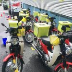 Motorcycle Washing at Truck Washing Brisbane Company Commercial Fleet Solutions