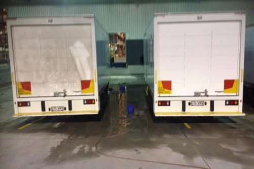Mobile Truck Wash Brisbane Services at Commercial Fleet Solutions